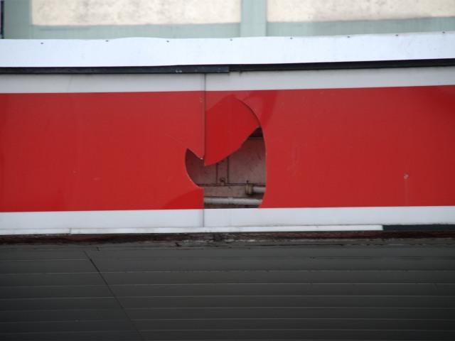 Lightbox Hamburg Esso Tankstelle